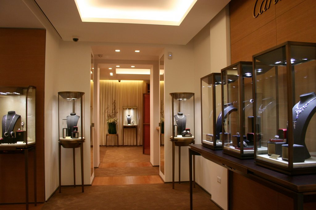Boutique temporanea Cartier – via S. Andrea | Milano
