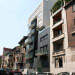 Costruzione di autorimessa multipiano interrata e due edifici residenziali in Via Vela | Milano