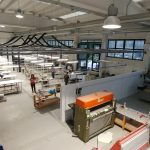 Production site renovation in Varese