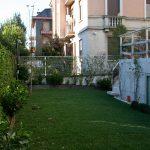 Progettazione del giardino di una villa in via Jacopo Peri – Milano