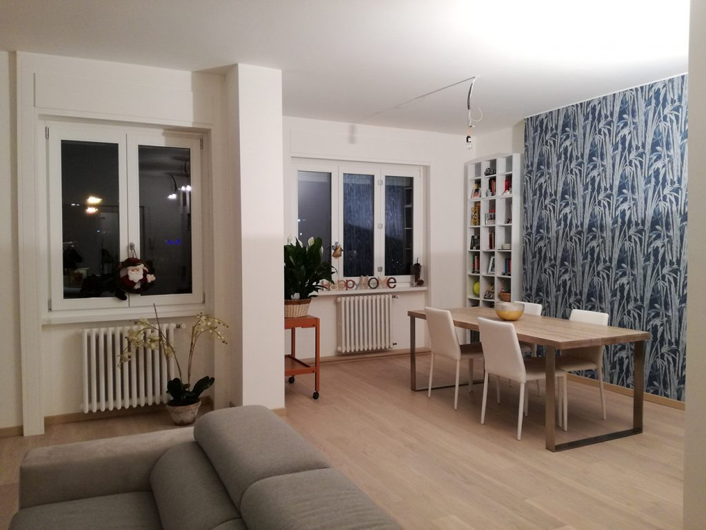 Apartment renovation in via Zuretti | Milan